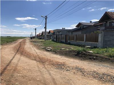 Parcele Sacalaz, 630-700mp, utilitati gaz, curent, drum pietruit